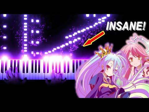 """[FULL] No Game No Life OP - """"This Game"""" - Konomi Suzuki (Piano)"""