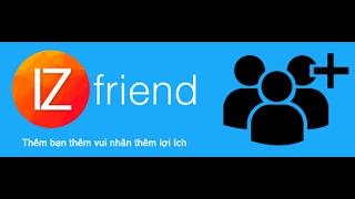 hướng dẫn sử dụng phần mềm iz friend