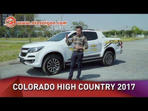 Chi tiết Colorado 2017 bản High Country giá 839 triệu đồng