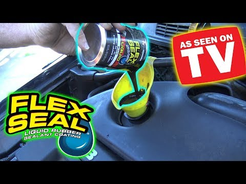 Can You Use Flex Seal As Engine Oil Youtube