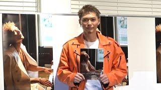 EXILE SHOKICHIにとって初となる写真集!!「BYAKUYA」発売記念イベントに...