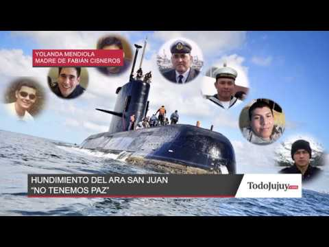 Hundimiento del ARA San Juan: No tenemos paz