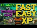 Plants vs zombies gw2: 3 easy ways how to get fast xp