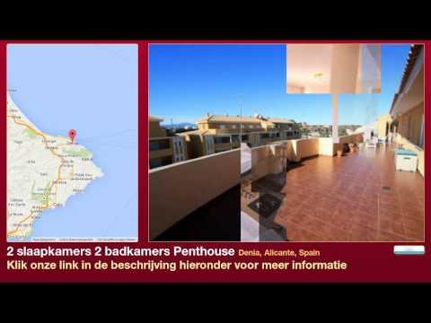 2 slaapkamers 2 badkamers Penthouse te Koop in Denia, Alicante, Spain