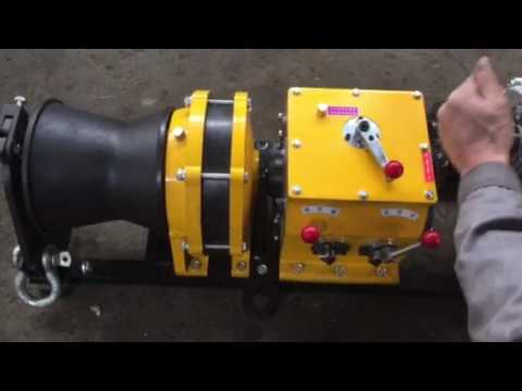 JJM5B 5 Ton Fast Speed Diesel Engine Winch for Cable Pulling and Lifting