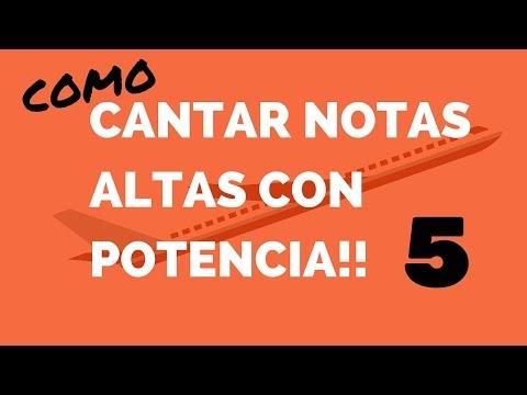 COMO CANTAR NOTAS ALTAS CON POTENCIA PARTE 5