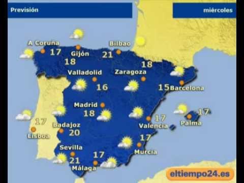 El Tiempo En España Para Mañana Martes El 28 02 2012
