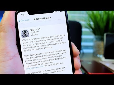 iOS 11.3.1 Released by Apple | IMPORTANT SECURITY UPDATE!