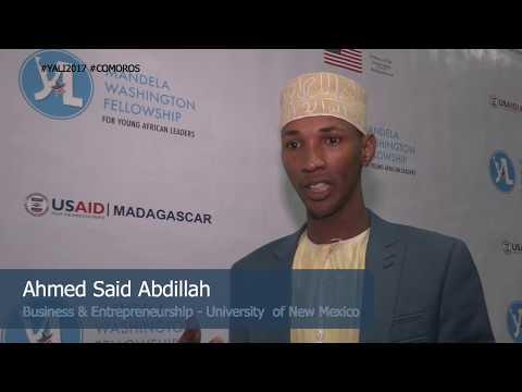 YALI 2007, Comoros - Ahmed Said Abdillah