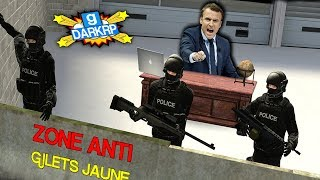 LE PRÉSIDENT VERSUS GILETS JAUNE LE GRAND COMBAT ! - GMOD DarkRP FR