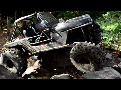 AtvsNetWeb at Rattle Rock: Rock Crawling Jeeps at Coal Creek OHV Wind Rock