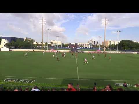 2017 FIU vs UM Womens Soccer