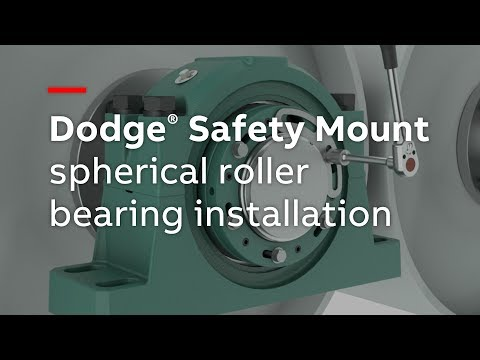 Dodge Safety Mount spherical roller bearing installation