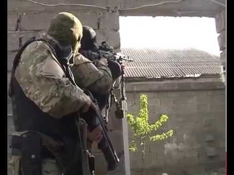 Спецоперация ФСБ и МВД РД в п. Свобода, Хасавюрт 24.04.2014