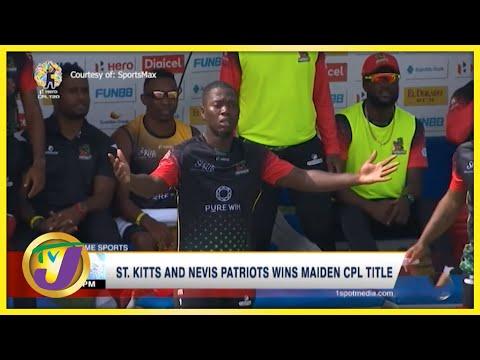 St. Kitts & Nevis Patriots Wins 2021 CPL - Sept 15 2021
