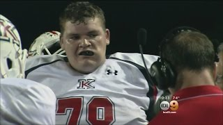 Local High School Senior Recognized As World's Largest Football Player