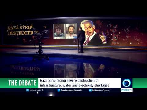 Philippe Assouline debates ANSWER about Gaza on Iran's Press TV