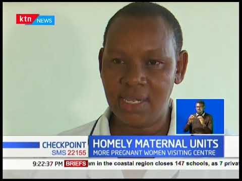 The homely maternal units in Turkana