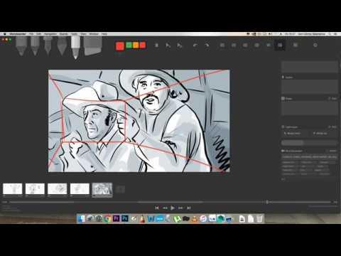 4  Storyboarder: import y export