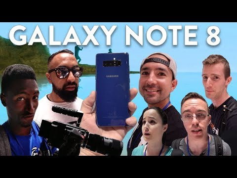Download Youtube: Galaxy Note 8: YouTubers REACT!
