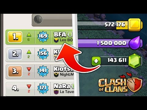 Clash of Clans ON DEPENSE 140'000 GEMMES...