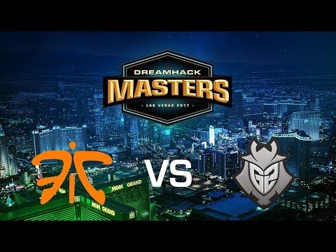 CS:GO - Fnatic vs G2 Esports - Qualifier RO8 - Dust 2 - Masters Las Vegas Europe Closed Qualifier