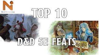 Top 10 D&D 5e Feats   Nerd Immersion