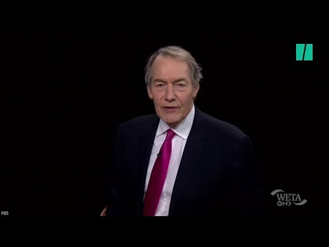 A Brief History Of Charlie Rose's Creepy On-Air Behavior
