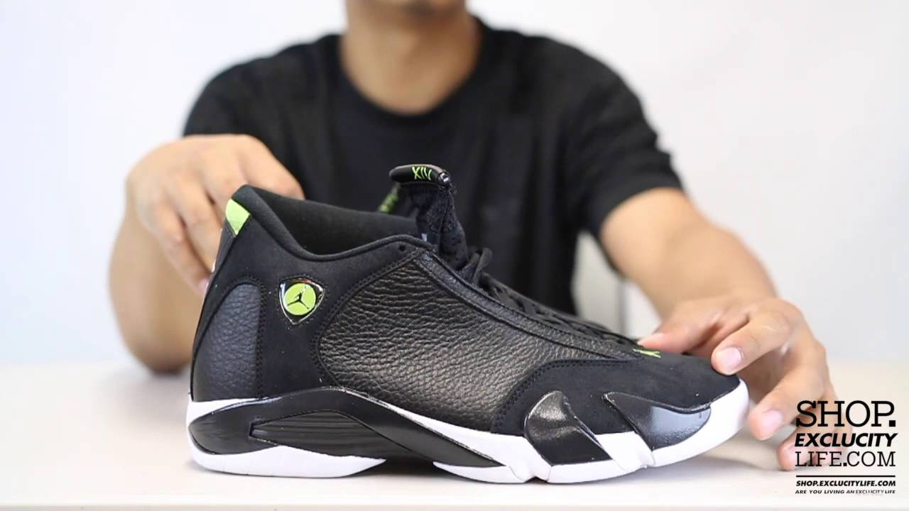 buy popular e8774 eeab0 ... cheapest air jordan 14 retro indiglo unboxing video at exclucity 55513  8473f