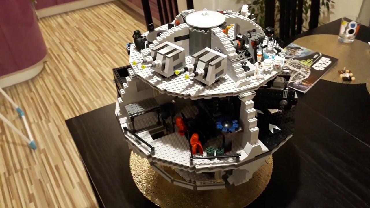 Klocki Lepin Gwiazda śmierci 35000 Podróbka Lego 10188 Death Star