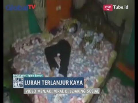 [Viral] Lurah Mojokerto Tidur di Hamparan Uang - BIS 24/06
