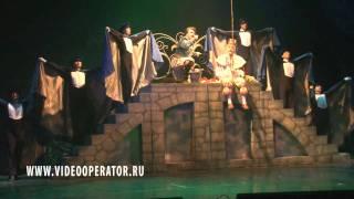 Мюзикл Золушка Песня короля и лесничего на рыбалке
