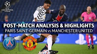 PSG vs Manchester United: Post Math Analysis & Highlights   UCL on CBS Sports