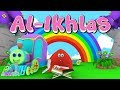 Animation 3d Juz Amma Al - Ikhlas | Recite Quran With Battar Train Hijaiyah | Abata Channel