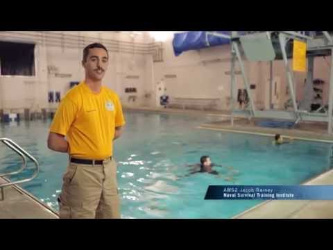 Navy Skills for Life – Water Survival Training – Buddy Towing