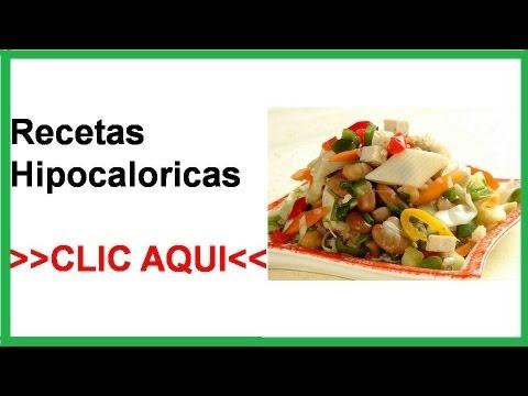 Platos para dietas hipocaloricas