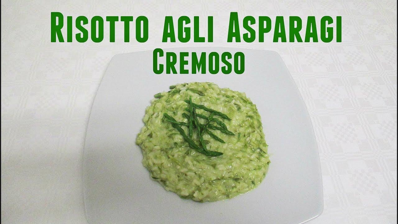 Ricetta Risotto Con Asparagi Monsieur Cuisine.Risotto Agli Asparagi Cremoso Bimby Tm5 Youtube