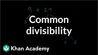 Common divisibility examples | Factors and multiples | Pre-Algebra | Khan Academy