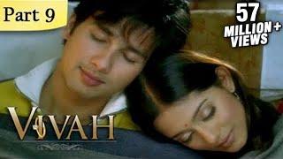 Vivah (HD) - 9/14 - Superhit Bollywood Blockbuster Romantic Hindi Movie - Shahid Kapoor & Amrita Rao