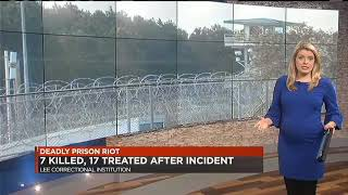 Lee Correctional prison riot: Seven inmates killed in incident identified in 'mass casualty incident