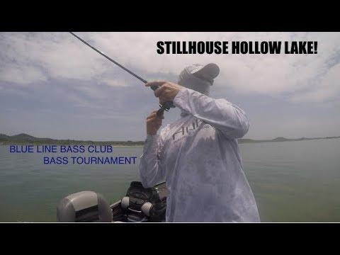 Stillhouse Hollow Lake, Texas: Bass Tournament
