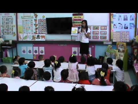 การเรียนการสอนภาษาอังกฤษชั้นอนุบาล 1/4 เรื่อง Animals ร.ร.ยู่เฉียว จ.กาญจนบุรี