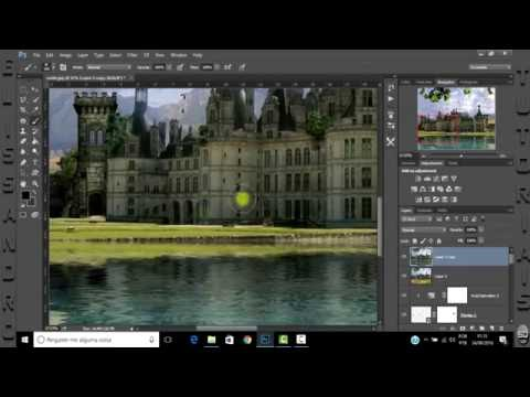 Make Transparent Water In Flood Photoshop Plugin