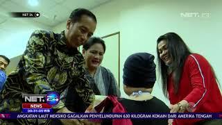 Presiden Jokowi Sempatkan Jenguk Shakira, Putri Penyanyi Denada NET24