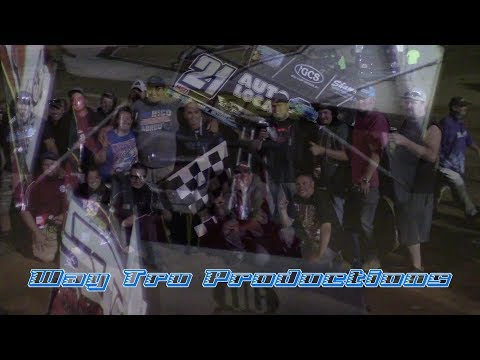 Trail-Way Speedway 410 Sprint Car and 600 Micro Sprint Victory Lane 8-27-17
