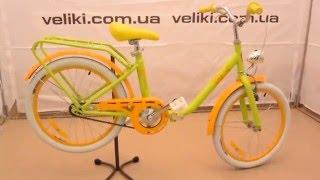 Обзор детского складного велосипеда