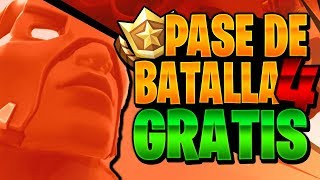 *PASS 4 FREE!! * HOW TO GET THE BATTLE PASS 4 FOR FREE! FREE PAVOS IN FORTNITE
