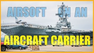 Airsoft on an Aircraft Carrier | Somali Pirate Team