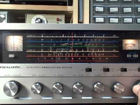 Dx 160 Shortwave Radio Listening Circa Build