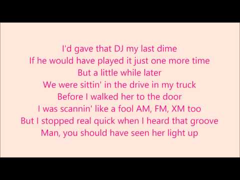 Play It Again - Luke Bryan Lyrics